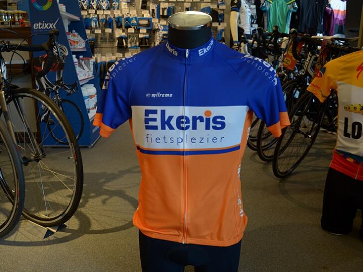 Nieuw: Ekeris Fietsplezier wielershirt!
